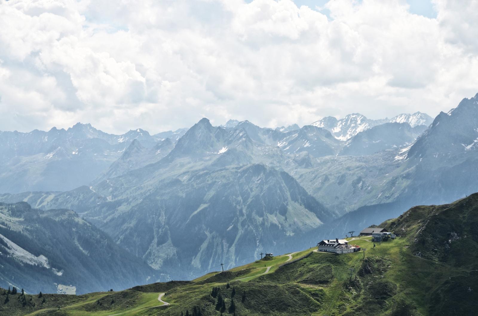 Panorama Nova Stoba - Silvretta Montafon